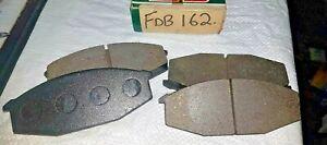 FOR BMW 5 6 SERIES E12 E24 BRAKE PAD SET FDB162 BP81 1162