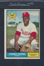 1961 Topps #502 Clarence Coleman Phillies EX *1904