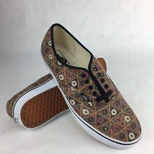 Vans Men's Van Doren Authentic Grid Tribe VN-0VOEC7A Size: 11.5