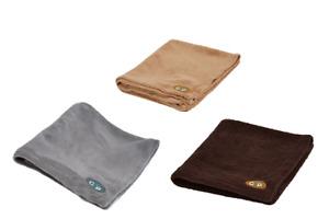 Pet Dog Cat Blanket Comfy Warm Fluffy Soft Fleece Washable Essence Gor Pet
