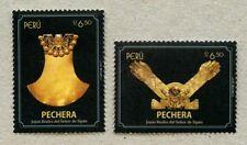 Peru 2017 Sipan Pechera Goldschmuck Kulturerbe Archäologie Postfrisch MNH
