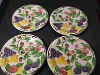 Zrike Harvest Fruit pattern sandwich plates
