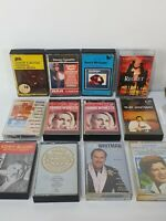 Vintage Retro Country Music Cassettes Tapes Bundle x 12 Kenny Rogers Patsy Cline
