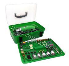 Minitrapano 170w kit 218 accessori punte per mini trapano modellismo taglio