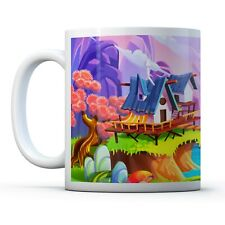 Colourful Magic Realm - Drinks Mug Cup Kitchen Birthday Office Fun Gift #16884