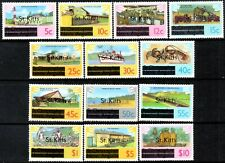 St.Kitts 1980 Overprint Set of 13   Mint (MNH)