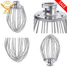 Stainless Steel Wire Whip Mix Stir 20 Qt Classic Mixer Durable Hobart Equivalent