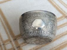 More details for victorian solid silver bowl george fox