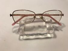 Genevieve Paris MODERN IDA Eyeglasses Frames Rose Heart Detail 55-17-140