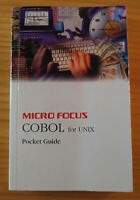 Brand New- Micro Focus COBOL for Unix, Pocket Guide, Issue 6 - 1995