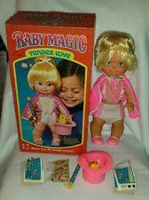 Vintage 1978 Mattel Baby Magic Tender Love Doll W/ Original Box