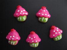 scrapbook cards cabochons cupcake birthday flatback resin embellishments pg