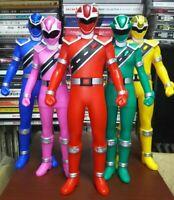 Bandai Mashin Sentai Kirameiger Vinyl Figure Set of 5 From Japan
