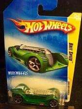 HOT WHEELS 2009 FE #4 -1 BRIT SPEED GREN NMC AMER