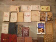 """Lot de livres ancien """"Ex-Libris"""" """"dédicace"""" """"numéroté"""""""
