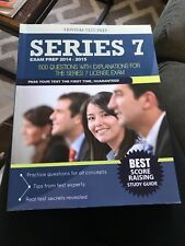 Series 7 Exam Prep 2014-2015 : 500 Questions with Explanations for the Series 7
