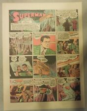 Superman Sunday Page #173 by Siegel & Shuster from 2/21/1943 Tab Page:Year #4!
