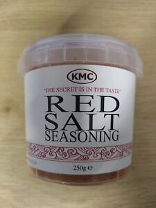 KMC Red Salt Seasoning x 1 Tub 250g