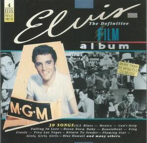 Elvis Presley - The Definitive Film Album 1987 RCA CD album West German pressed