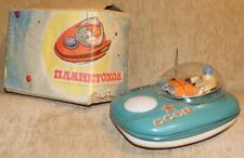Vintage USSR Space Toy 1960-70's Space Patrol.Working! w. Original Box! IKAR 7E