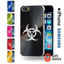 Biohazard Personalized Gift Engraved Phone Cover Case - iPhone & Samsung Models