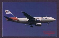 LMH Postcard  AEROFLOT Russian Airlines  PJSC AIRBUS A310-308  London Heathrow