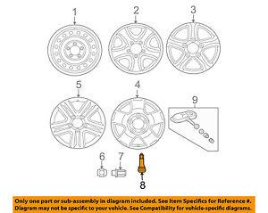 TOYOTA OEM-Tire Wheel Valve Stem 9008045006