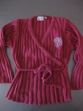 Suéter wickelpullover soga cinturón talla 116 feel good manga larga Pink cálido hermosa