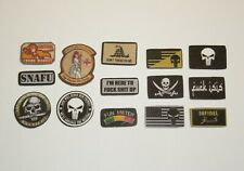 1/6 Scale Irreverent Fabric Patches for Special Operations Tactical Operators