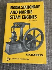 Model Stationary and Marine Steam Engines Paperback Karl Noble Harris