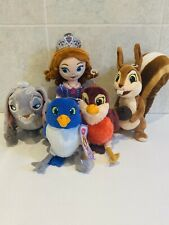Sofia The First Disney Store Teddies Rare Robin Rabbit Princess Plush