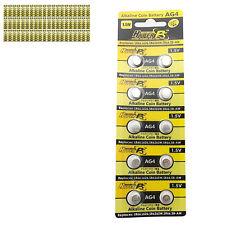 600 pcs AG4 D377 L626 SR66 SR626SW 1.5V Alkaline Button Cell Battery HyperPS