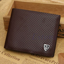 Mens Luxury Business Leather Bifold Wallet Credit Card Holder {13}