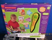 New Sealed Scholastic Tale- Teller Reading System With 4 Books Included Ages 4+