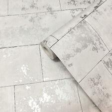 Light Grey, Modern, Concrete / Stone Effect, Smooth Finish Wallpaper