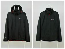 Mens Berghaus Aquafoil 2 Windbreaker Jacket 3 in 1 Black Size L
