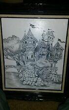 Castle painting