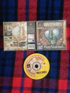 BROKEN SWORD II LA PROFEZIA DEI MAYA PS1 PLAYSTATION 1 PAL ITALIANO