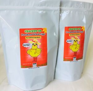 Whole Powdered Eggs 2-Pack 4 LBS, SAVE!, CAMPING, SURVIVAL, HUNTING, DEHYDRATED