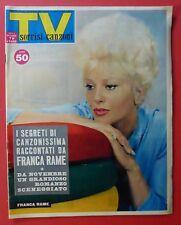 TV SORRISI CANZONI - N. 35 /1961 - SANDRA MILO