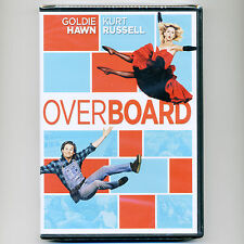 Overboard 1987 romantic comedy PG movie, new DVD Goldie Hawn, Kurt Russell yacht