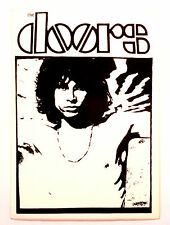 PEGATINA  VINTAGE  AÑOS  80s  -   THE DOORS