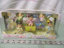 RARE MGA Entertainment 5sies Changing Table with Dolls 3 girls 2 boys
