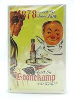 Blechschild Boonekamp Metall Schild 30 cm Nostalgie Metal Shield Neu