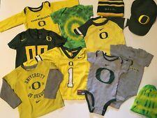 Oregon Ducks Baby Lot! Nike! Fan Gear! Unisex Baby Fan Gear 3-6 Months Chris