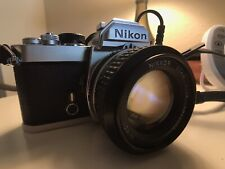 Nikon FM with MF-12 Back and Nikkor 50mm 1.4 Ai lens