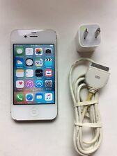 Apple iPhone 4s - 16GB - White (Sprint) Smartphone (CDMA) - Clean ESN No Cloud
