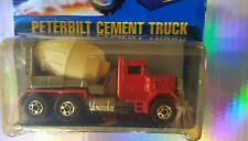 RARE~ PETERBUILT CEMENT TRUCK ~BLUE CARD-#78-HOT WHEELS-ORIGINAL-VHTF-COLLECTORS