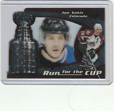 2008-09 Black Diamond #11 Run for the Cup Joe Sakic /100