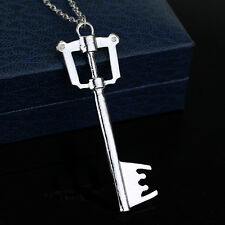 Kingdom Hearts Keyblade Metal Necklace Game Jewelry Figure Cosplay Pendant Gift